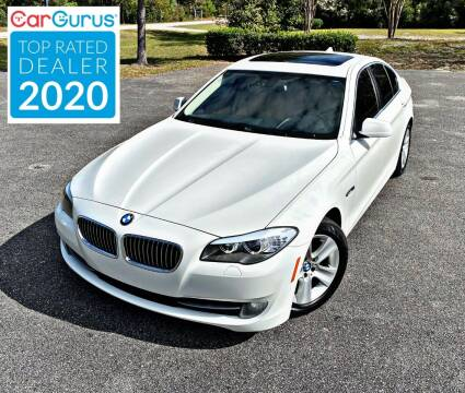 2013 BMW 5 Series for sale at Brothers Auto Sales of Conway in Conway SC