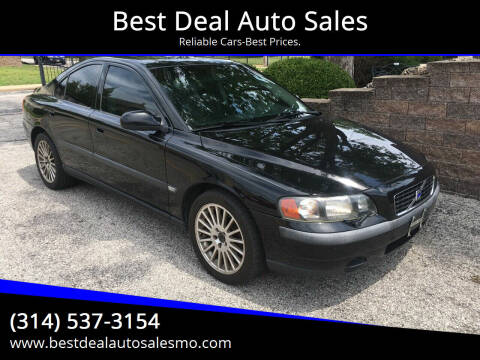2001 Volvo S60 for sale at Best Deal Auto Sales in Saint Charles MO