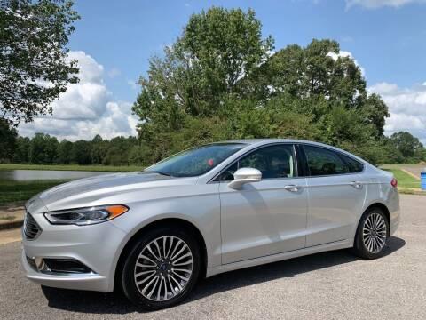 2018 Ford Fusion for sale at LAMB MOTORS INC in Hamilton AL