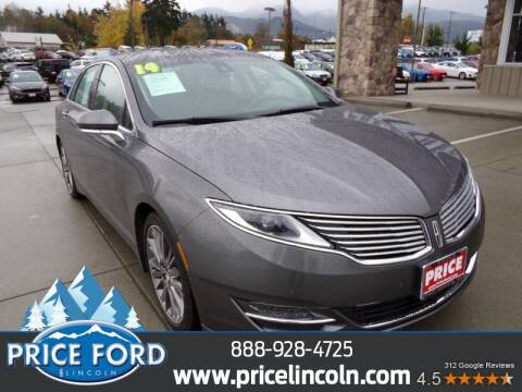 2014 Lincoln MKZ Hybrid for sale at Price Ford Lincoln in Port Angeles WA