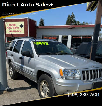 2004 Jeep Grand Cherokee for sale at Direct Auto Sales+ in Spokane Valley WA
