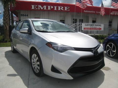 2017 Toyota Corolla for sale at Empire Automotive Group Inc. in Orlando FL
