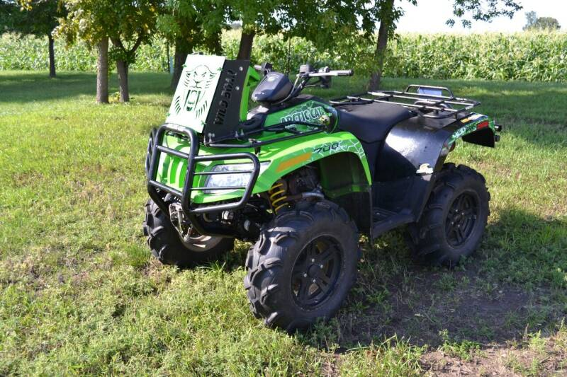 2014 Arctic Cat 700 ATV for sale at Dave's Auto Sales in Winthrop MN