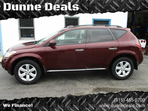 2006 Nissan Murano for sale at Dunne Deals in Crystal Lake IL
