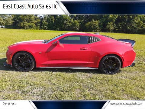 2016 Chevrolet Camaro for sale at East Coast Auto Sales llc in Virginia Beach VA