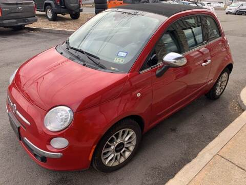 2012 FIAT 500c for sale at 222 Newbury Motors in Peabody MA