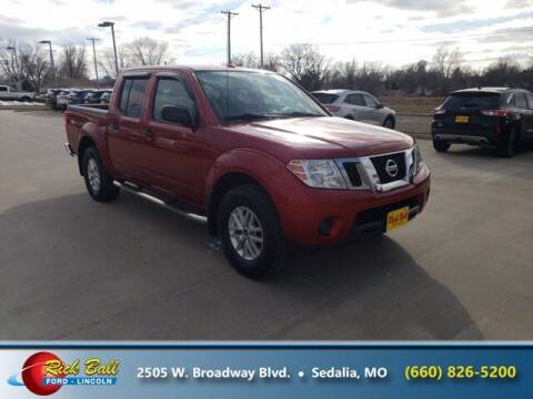 2016 Nissan Frontier for sale at RICK BALL FORD in Sedalia MO