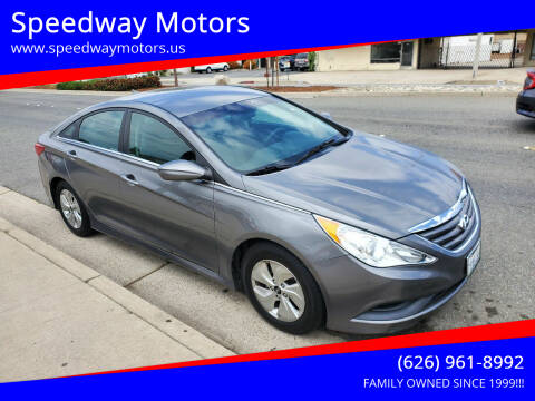 2014 Hyundai Sonata for sale at Speedway Motors in Glendora CA
