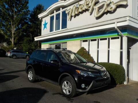 2013 Toyota RAV4 for sale at Nicky D's in Easthampton MA