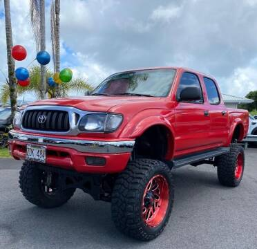 2001 Toyota Tacoma for sale at PONO'S USED CARS in Hilo HI