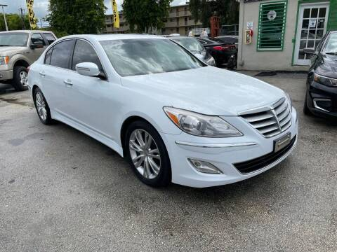 2014 Hyundai Genesis for sale at D & P OF MIAMI CORP in Miami FL