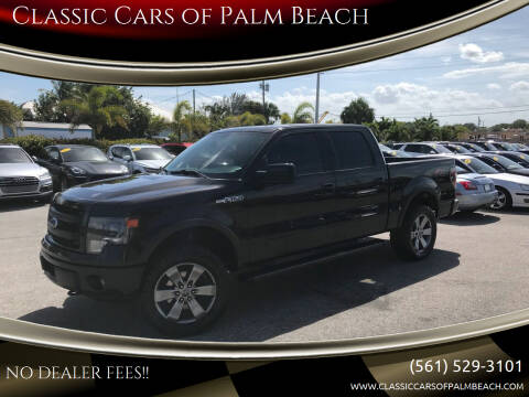 2014 Ford F-150 for sale at Classic Cars of Palm Beach in Jupiter FL