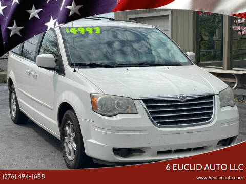2008 Chrysler Town and Country for sale at 6 Euclid Auto LLC in Bristol VA