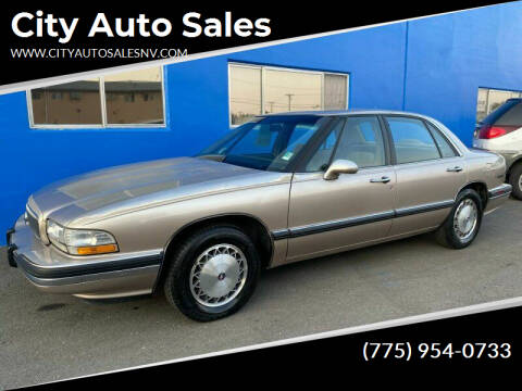 1995 Buick LeSabre for sale at City Auto Sales in Sparks NV