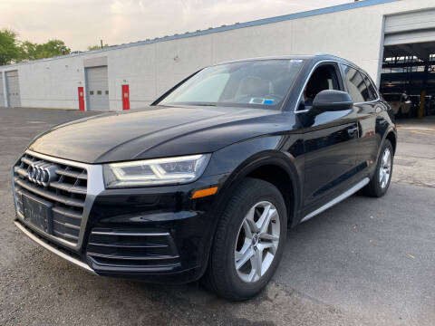 2018 Audi Q5 for sale at JerseyMotorsInc.com in Teterboro NJ