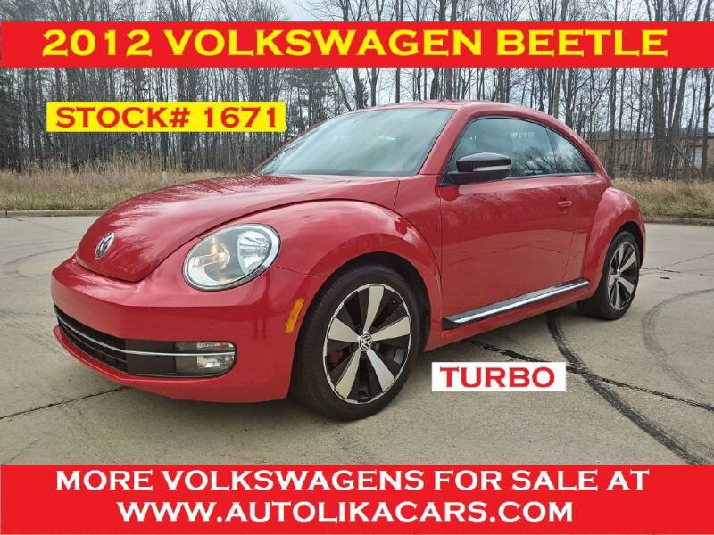 2012 Volkswagen Beetle for sale at Autolika Cars LLC in North Royalton OH