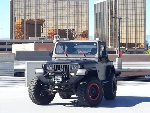1990 Jeep Wrangler for sale at Pammi Motors in Glendale CO
