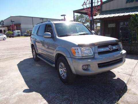 2005 Toyota Sequoia for sale at MOTION TREND AUTO SALES in Tomball TX