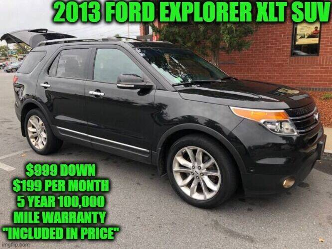 2013 Ford Explorer for sale at D&D Auto Sales, LLC in Rowley MA