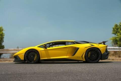 2016 Lamborghini Aventador for sale at Classic Car Deals in Cadillac MI