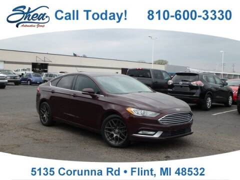 2017 Ford Fusion for sale at Jamie Sells Cars 810 - Linden Location in Flint MI