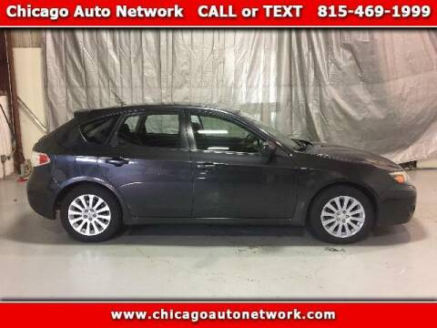 2008 Subaru Impreza for sale at Chicago Auto Network in Mokena IL
