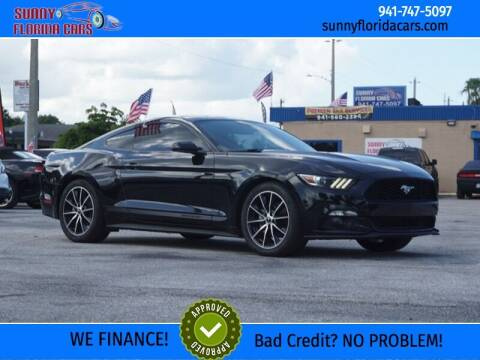 2015 Ford Mustang for sale at Sunny Florida Cars in Bradenton FL