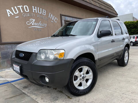 2007 Ford Escape for sale at Auto Hub, Inc. in Anaheim CA