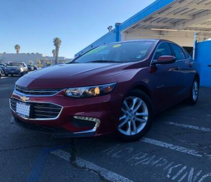 2018 Chevrolet Malibu for sale at LUGO AUTO GROUP in Sacramento CA