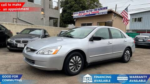 2004 Honda Accord for sale at San Diego Auto Traders in San Diego CA
