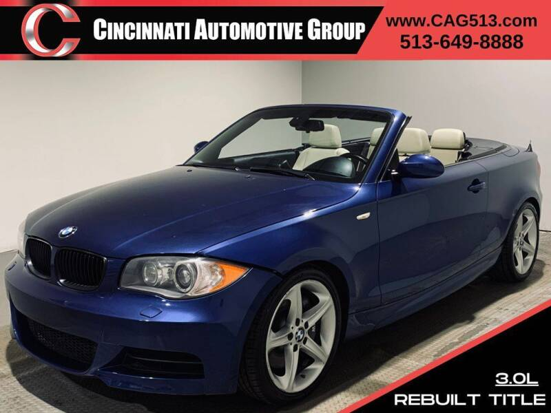 2009 BMW 1 Series for sale at Cincinnati Automotive Group in Lebanon OH