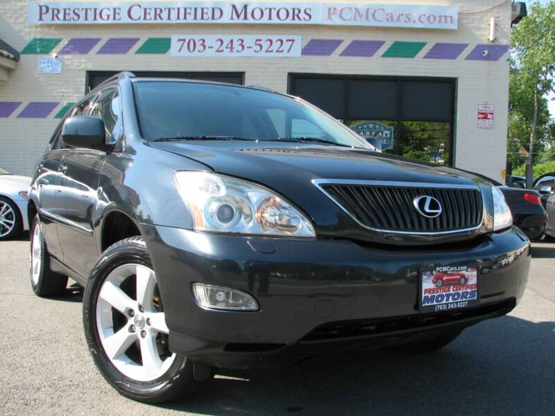 2007 Lexus RX 350 for sale at Prestige Certified Motors in Falls Church VA