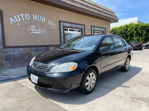 2006 Toyota Corolla for sale at Auto Hub, Inc. in Anaheim CA