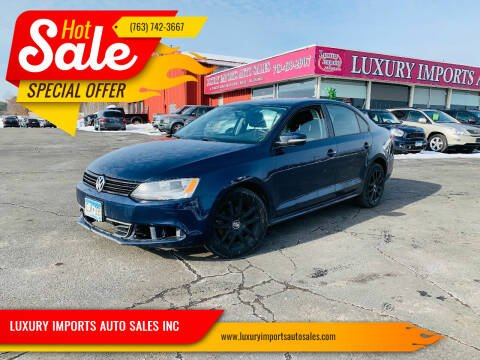 2012 Volkswagen Jetta for sale at LUXURY IMPORTS AUTO SALES INC in North Branch MN