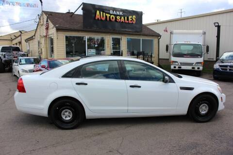 2011 Chevrolet Caprice for sale at BANK AUTO SALES in Wayne MI