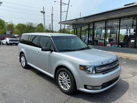 2014 Ford Flex for sale at Smart Buy Car Sales in St. Louis MO