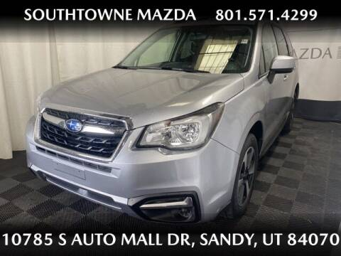 2017 Subaru Forester for sale at Southtowne Mazda of Sandy in Sandy UT