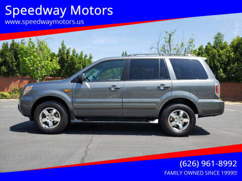 2008 Honda Pilot for sale at Speedway Motors in Glendora CA