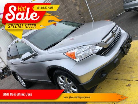 2007 Honda CR-V for sale at G&K Consulting Corp in Fair Lawn NJ