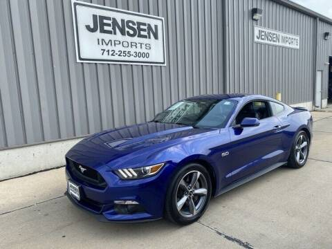 2016 Ford Mustang for sale at Jensen's Dealerships in Sioux City IA