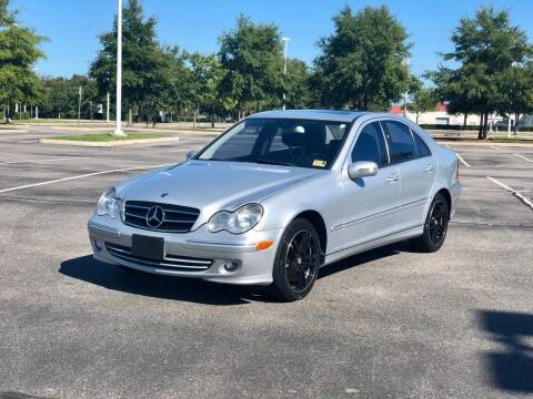 2007 Mercedes-Benz C-Class for sale at Supreme Auto Sales in Chesapeake VA