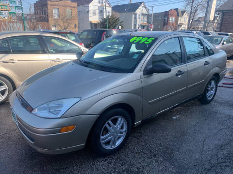2001 Ford Focus for sale at Barnes Auto Group in Chicago IL