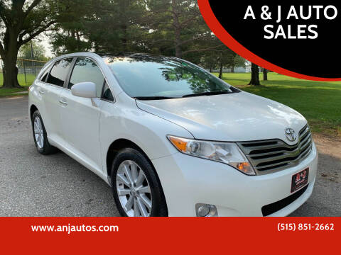 2009 Toyota Venza for sale at A & J AUTO SALES in Eagle Grove IA