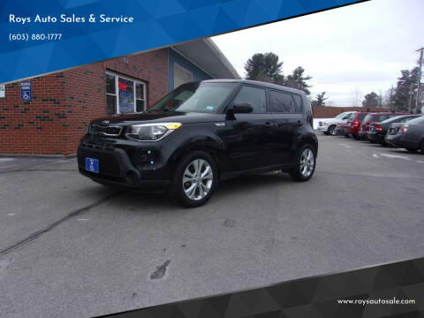 2015 Kia Soul for sale at Roys Auto Sales & Service in Hudson NH