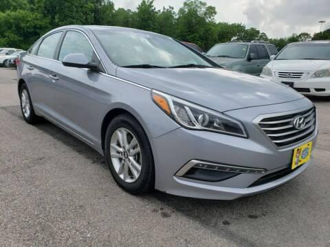 2015 Hyundai Sonata for sale at JAVY AUTO SALES in Houston TX