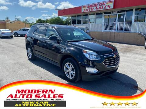 2017 Chevrolet Equinox for sale at Modern Auto Sales in Hollywood FL