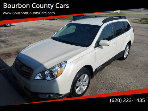 2012 Subaru Outback for sale at Bourbon County Cars in Fort Scott KS