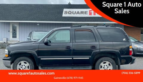 2005 Chevrolet Tahoe for sale at Square 1 Auto Sales - Commerce in Commerce GA