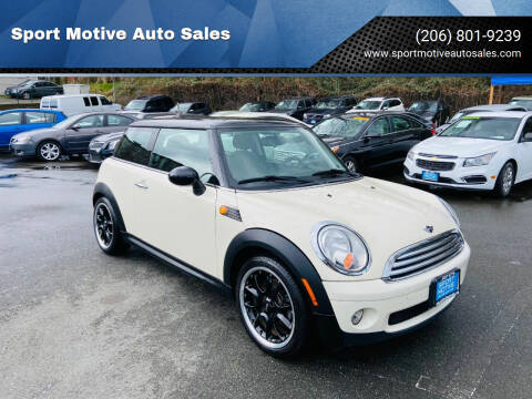 2008 MINI Cooper for sale at Sport Motive Auto Sales in Seattle WA