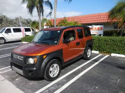2007 Honda Element for sale at Uzdcarz Inc. in Pompano Beach FL